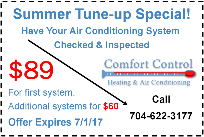 Charlotte Air Conditioner Tune Up Special