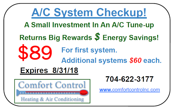 Charlotte Heating And Air Conditioning Coupons Amp Special
